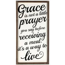 Hobby Lobby Dream Catcher Grace is Not a Little Prayer Wall Sign from Hobby Lobby For 77