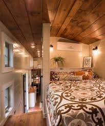 tiny house bed ideas. Beautiful Ideas The Main Bedroom Is Located Over The Gooseneck Deck Giving It Extra  Headroom And Space For A Builtin Wardrobe To Tiny House Bed Ideas U