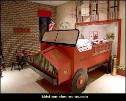 firefighter bedroom set. firetruck theme bedroom decorating ideas-transportation bedrooms firefighter set s