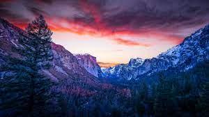 4003 Yosemite Valley Mountains HD 4k ...