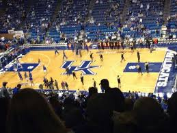 Rupp Arena Section 212 Home Of Kentucky Wildcats