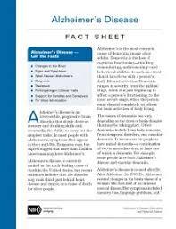 dementia fact sheet thumbnail of alzheimers disease fact sheet print version