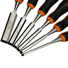 Windsor Design Chisels Premium Wood Chisel Set For Woodworking Carving W Hammer Steel End Cap 6 Piece