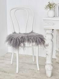icelandic sheepskin seat cover soft grey