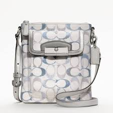 Picture of COACH Kristin Embellished Signature Swingpack