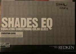 Redken Shades Eq Equalizing Conditioning Gloss Education