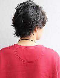 メンズ30代好感度爽やかビジネスパーマミディアム人気髪型ns 039