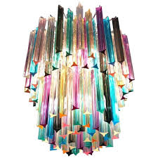 multi colored chandelier chandelier multi color prism for large multi coloured gypsy chandelier