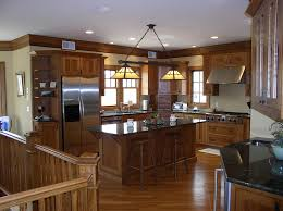 Arts Crafts Kitchen Design Mountain Lakes Leeb Architecture Inspiration Kitchen Design Architect