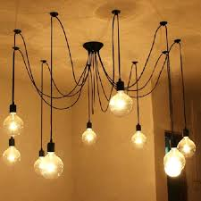 diy pendant light chandelier creative lamps chandeliers 1