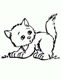 Small Picture The Incredible Cute Kitten Coloring Pages intended for House