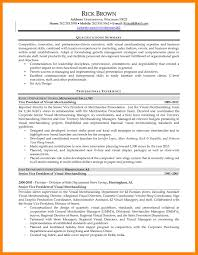 Visual Merchandiser Resume 100 Visual Merchandising Resume Job Apply Form Samples Sample 100 64