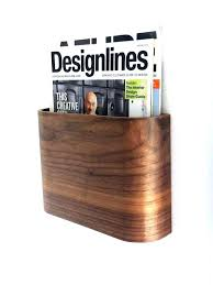 Contemporary Magazine Holder Interesting Contemporary Magazine Rack Furniture Modern Holder Archives With