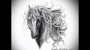 конь тату эскиз коллекция рисунков для тату значение и фото