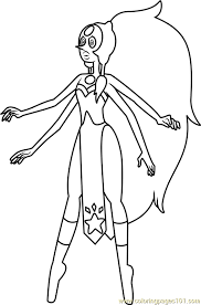 Small Picture Opal Steven Universe Coloring Page Free Steven Universe Coloring