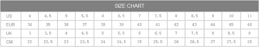 Golden Goose Shoe Size Chart Golden Goose Shoe Size Chart