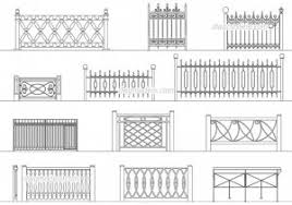 picket fence drawing. Spiffy Wrought Iron Fence Design Drawings Aluminum Picket Cad Picket Fence Drawing