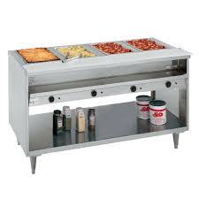 Randell 3614 240 63 Hot Food Table W 4 Wells 8 Cutting Board