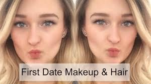 first date makeup and hair makeup