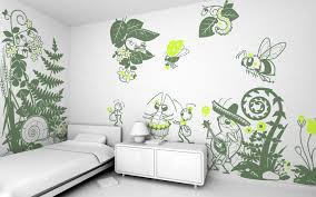 kids bedroom wall decoration vintage jungle theme wall decor