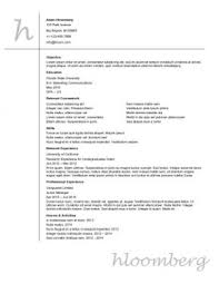 rock your internship resume  samples  templates internship resume sample 1