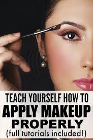 8 tutorials to teach you how to apply make up like a pro makeup step