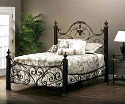 Rustic Iron Beds Rustic Metal Bed Frame King Wrought Iron Bed Medium ...