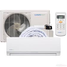 climate right diy 12 000 btu 17 seer quick connect ductless mini split air conditioner