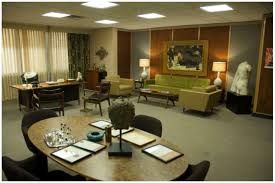 mad men furniture. dormspiration interior decor inspired by mad men and man office furniture