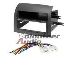 toyota sienna single din car radio stereo installation dash kit Raptor Car Stereo Wiring Harness at Stereo Mounting Kit And Wiring Harness
