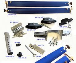 Selden mast parts