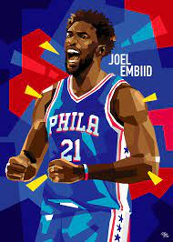 Check out our joel embiid art selection for the very best in unique or custom, handmade pieces from our shops. Embiid Cartoon Wallpapers Wallpaper Cave