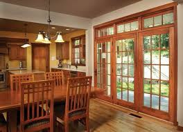 image of sliding french patio doors with blinds between the glass