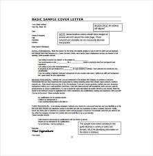 10 Resume Cover Letter Templates Free Sample Example Format