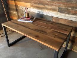 Reclaimed Barn Wood Desk / Industrial Reclaimed Wood Desk / Modern  Reclaimed Wood Desk