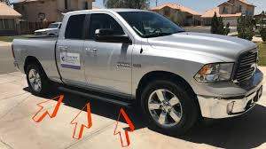 iBoard Running Boards Complete Install On A Dodge Ram 1500 Big Horn ...