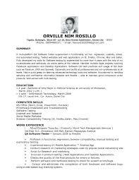 Sample Resume For Manual Testing Karina Mtk