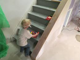 painted basement stairs. Exellent Painted Marvelous Painted Basement Stairs Ideas Pics For