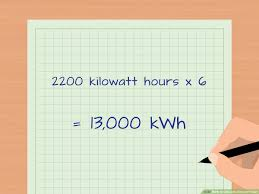 Kw To Amps Conversion Chart How To Calculate Kilowatt Hours With Calculator Wikihow