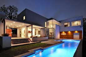architecture house. Modern Architecture House Design Pool T