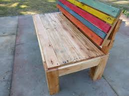 rustic benches with backs bench wood back