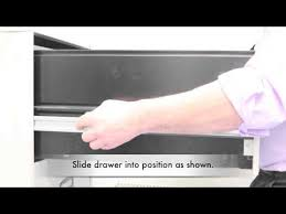 how to remove a filing cabinet drawer