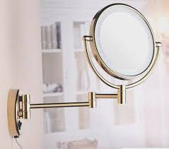 magnifying vanity mirror bathroom wall magnifying mirrors retractable makeup mirror wall mounted cosmetic mirror with light where to