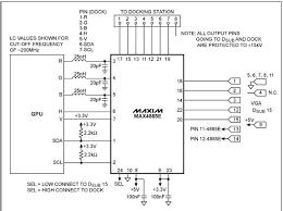 circuit diagram laptop lcd display to vga interface project circuit diagram laptop lcd display to vga maxim