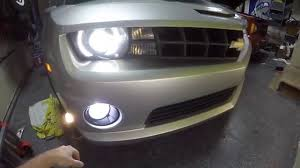 2010 Camaro Fog Light Bulb Size 2010 Chevrolet Camaro Ss Drl Harness And Led Bulb Install