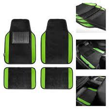 green car floor mats. 4pcs Set Universal Fit Car Vinyl Heel Pad Carpet Floor Mats Black Green  501440700005   EBay Green Car Floor Mats A