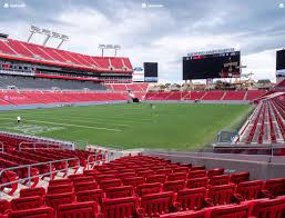 Raymond James Stadium Section 127 Seat Views Seatgeek