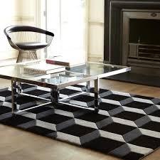 geometric black silver geo04