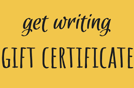 Get Writing Gift Certificate Catapult Classes