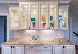 glass doors vs open shelves which